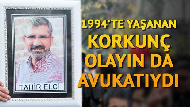 Tahir Elçi, 1994 yılında yaşanan 'köy bombalama' olayının AİHM'deki davasının avukatıydı