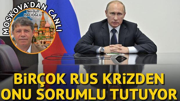 Birçok Rus, Türkiye'yle yaşanan krizden Putin'i sorumlu tutuyor