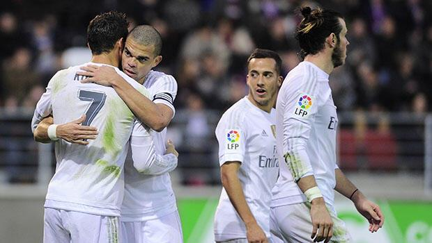 Eibar 0-2 Real Madrid
