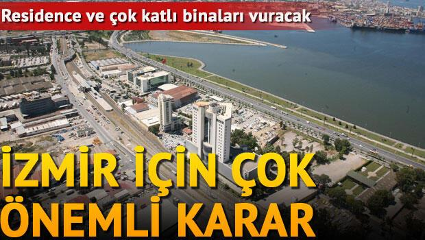 İzmir'de nüfus arttıran plan notuna iptal