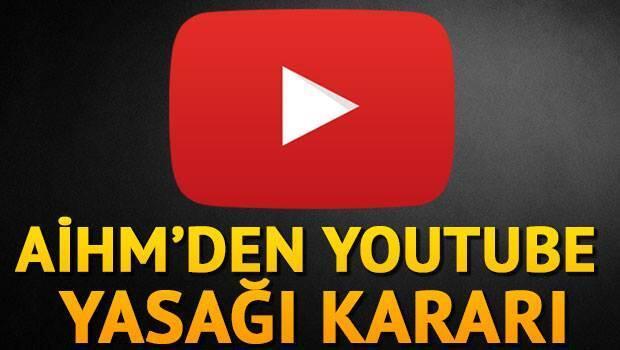 AİHM YouTube yasağı için kararını verdi