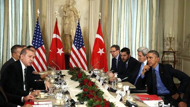 Cumhurbaşkanı Erdoğan, Paris'te ABD Başkanı Obama ile görüştü