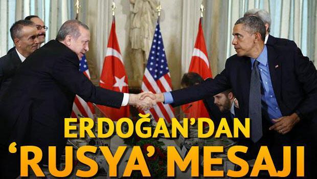 Erdoğan, Paris'te Obama ile görüştü