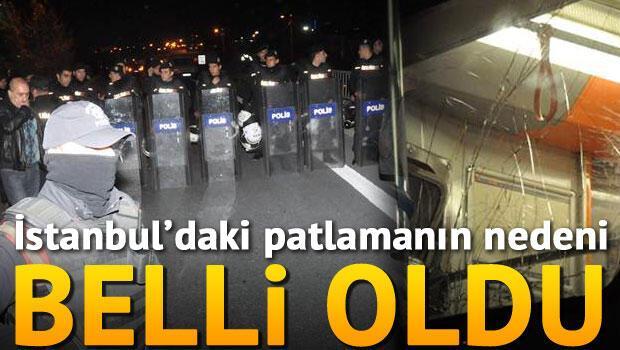 İstanbul Bayrampaşa'da patlama