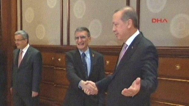 Cumhurbaşkanı Erdoğan, Sancar'ı kabul etti