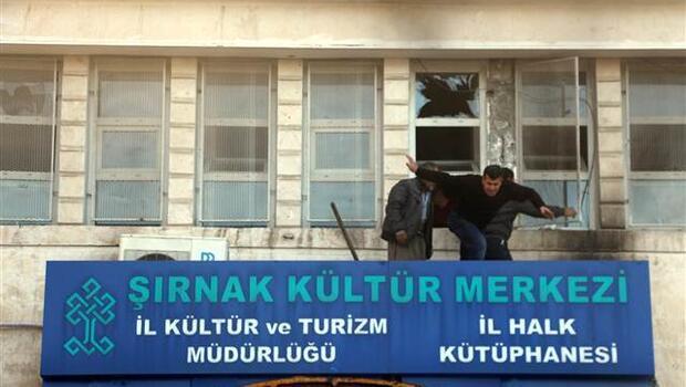 Şırnak'ta içinde öğrencilerin bulunduğu kültür merkezine PKK'lı teröristler bomba attı: 6 yaralı