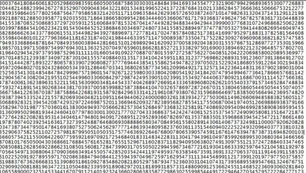 22 milyon 338 bin 618 basamaklı yeni asal sayı bulundu