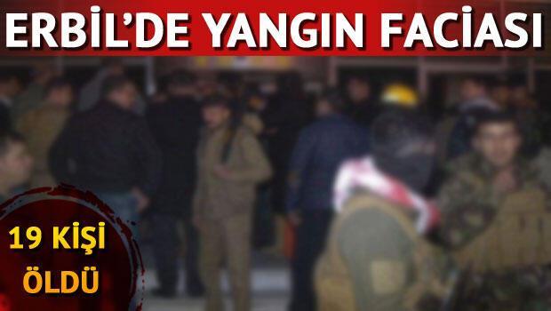 Erbil'de otel yangını faciası: 19 ölü