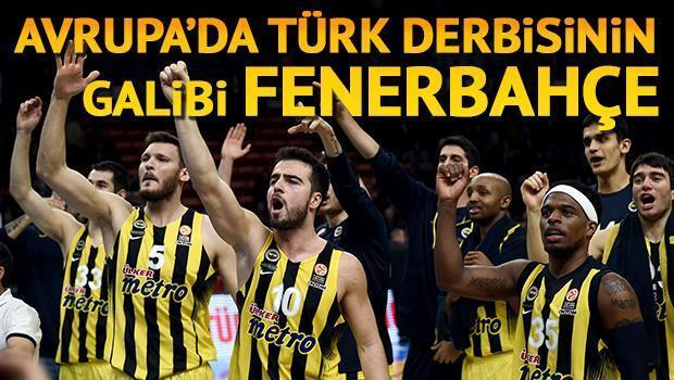 Anadolu Efes 73 - 77 Fenerbahçe