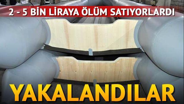 Polisten mülteci botu imalathanelerine baskın
