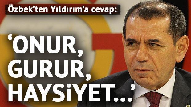 Dursun Özbek'ten Aziz Yıldırım'a flaş cevap!
