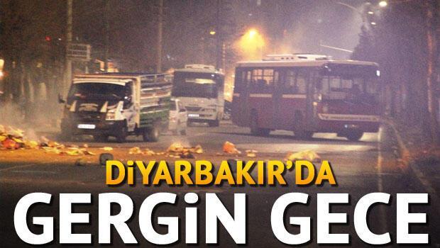 Diyarbakır'da protestoculara polis müdahalesi