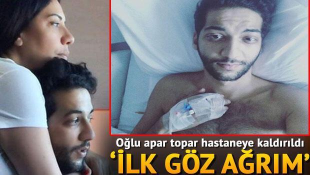 Işın Karaca'nın oğlu Erda Karaca hastaneye kaldırıldı