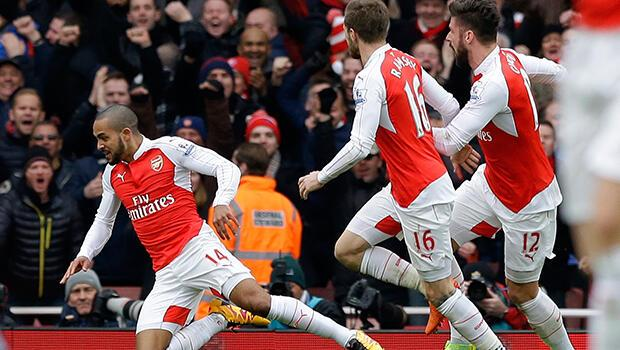 Arsenal 2-1 Leicester City