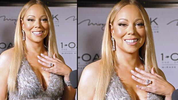 Mariah Carey servet değerindeki nişan yüzüğüyle böyle poz verdi