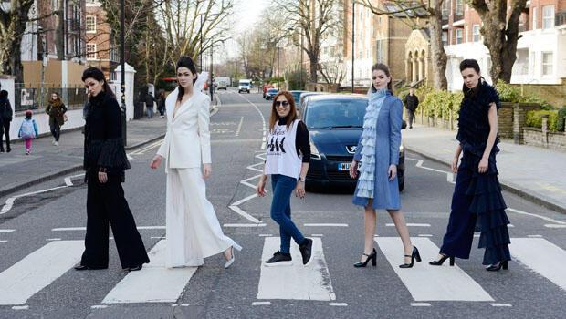 Tasarmıcı Zeynep Kartal Beatles'la aynı yerde