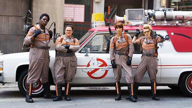 Hayalet Avcılarının (Ghostbusters) yeni fragmanı tık rekoru kırdı