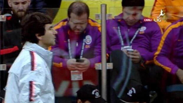 Galatasaray taraftarını kızdıran ikili