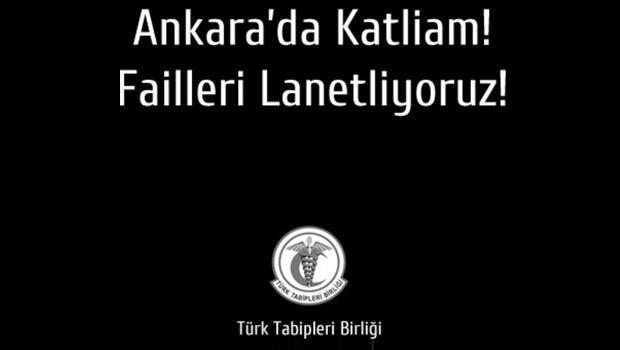 Türk Tabipler Birliğinden kınama
