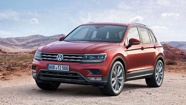 VW Tiguanda yeni motor seçenekleri