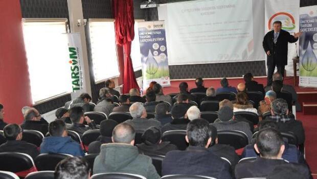 Kelkit'te çiftçilere Tarım Sigortası uygulamaları anlatıldı