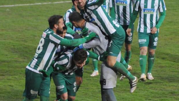 Giresunspor-Şanlıurfaspor: 3-1