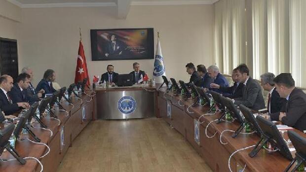 KMÜ7de üniversite güvenlik koordinasyon toplantısı yapıldı