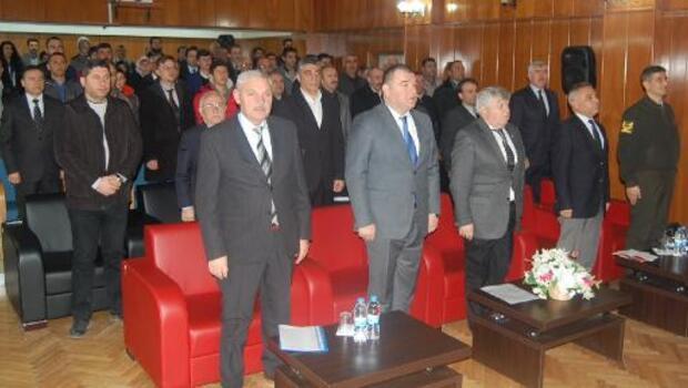 Amasya'da okul servis şoförlerine seminer