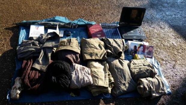 Mardinde PKKlıların konferans için kullandığı sığınak bulundu