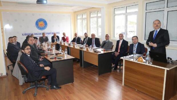 Karaman'da istihdam seferberliği toplantısı yapıldı