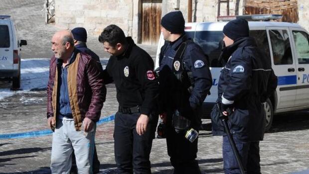 Nevşehirde sokak ortasında cinayet