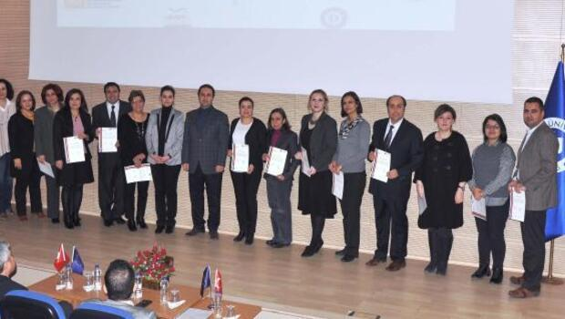 Uşakta AB destekli projede sertifika töreni