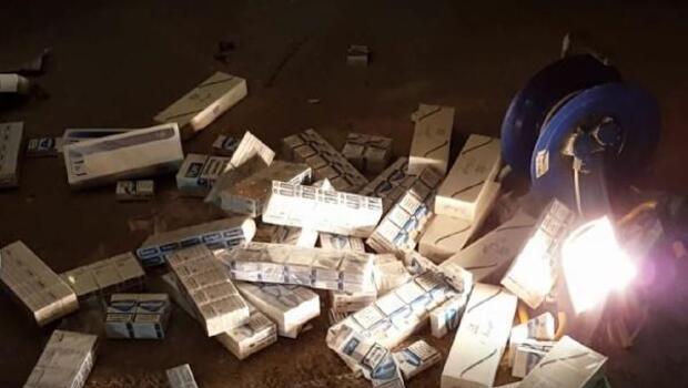 TIRda 67 bin paket kaçak sigara ele geçirildi