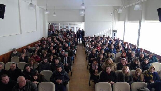 Okul servisleri hakkında bilgilendirme toplantısı yapıldı