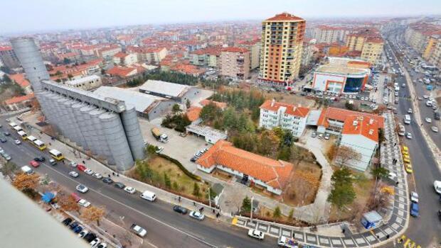 Aksaray'da TMO silolarının yerine park yapılacak
