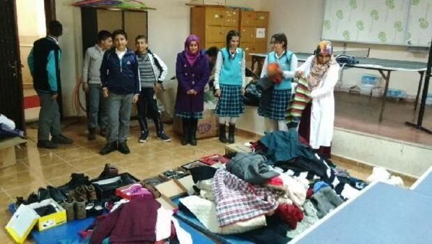 Lüleburgazlı liselilerden Bitlisli öğrencilere yardım