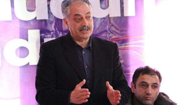 HDPli Erdoğmuş ile Botan, referandum çalışmaları için Şemdinlide