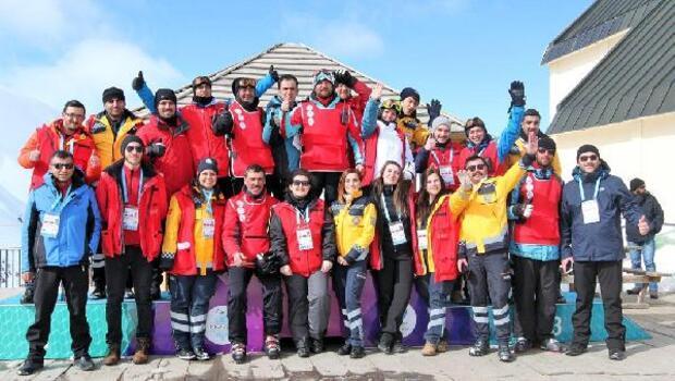 Sağlık ekiplerinin EYOF başarısı