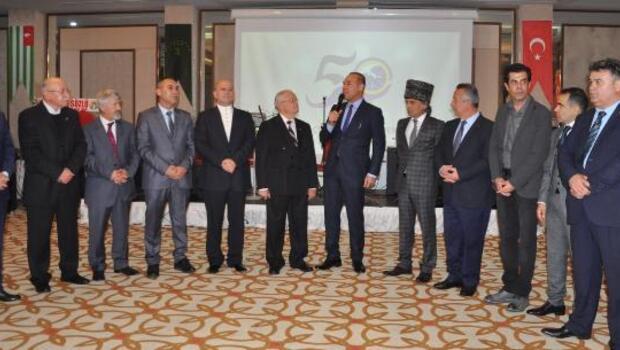 Adana Çerkes Derneği 50nci yılını kutladı