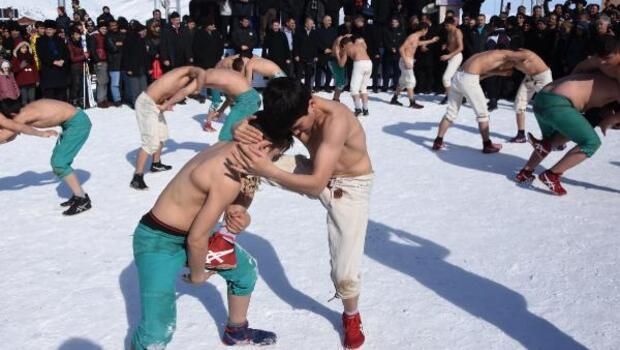 Şehitler anısına kış etkinlikleri