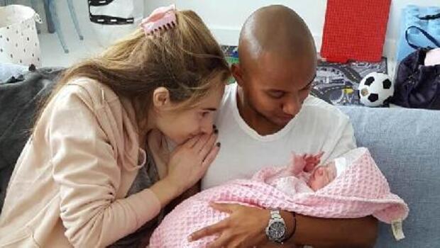 Bursasporlu Joshua 2nci defa baba oldu