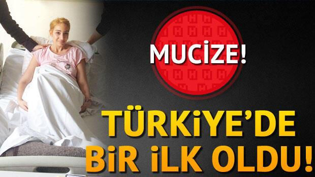 Türkiyede bir ilk: Mucize Canan