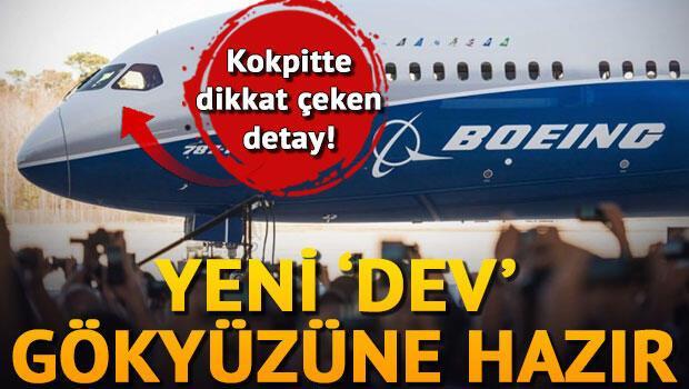 Boeingin yeni devi 787-10 Dreamliner tanıtıldı