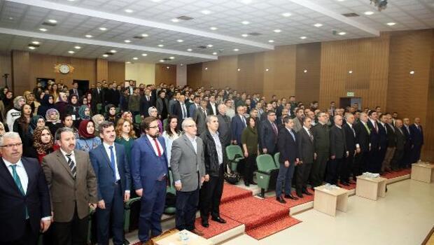 Çankırıda 15 Temmuz ve Cumhurbaşkanlığı Hükümet Sistemi Konferansı