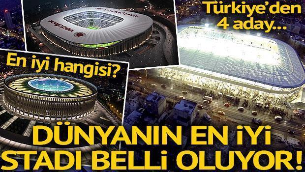 Dünyada yılın en iyi statları seçiliyor Türkiyeden 4 aday...