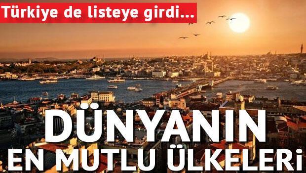 Refah düzeyi yüksek ülkeler Türkiye bakın kaçıncı sırada...