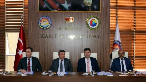 Burdur OSB toplantısı