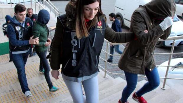 Zonguldakta uyuşturucuya 4 tutuklama