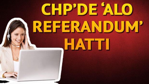 CHPden 850li Alo Referandum hattı
