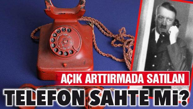 Hitlerin açık artırma ile satılan telefonu sahte iddiası